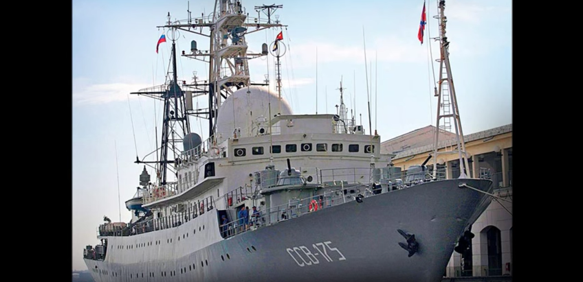 Russian Spy Ship Patrolling Off The Coast Of Delaware Featured