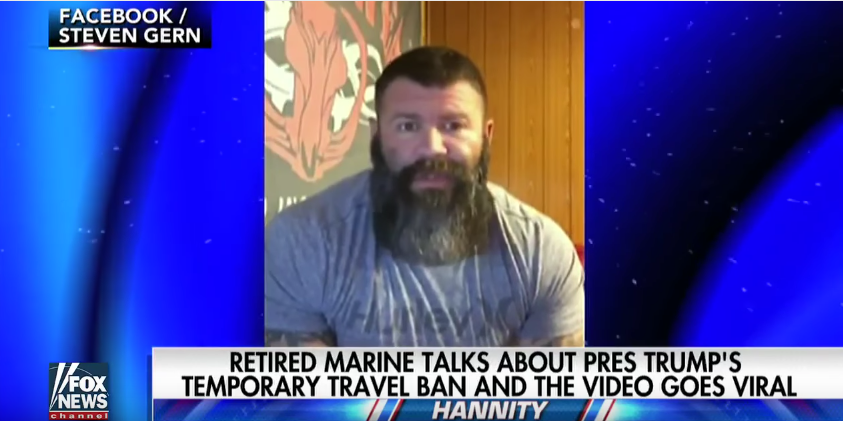 Marine Sergeant's Video About Trump's Temp. Travel Ban Gets Over 44 Million Views Featured
