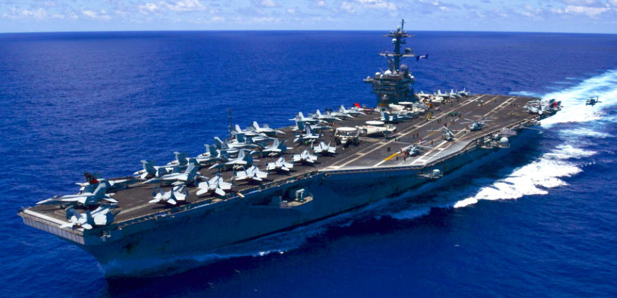 U.S. Navy Deploys Carrier Strike Group To Patrol South China Sea Featured