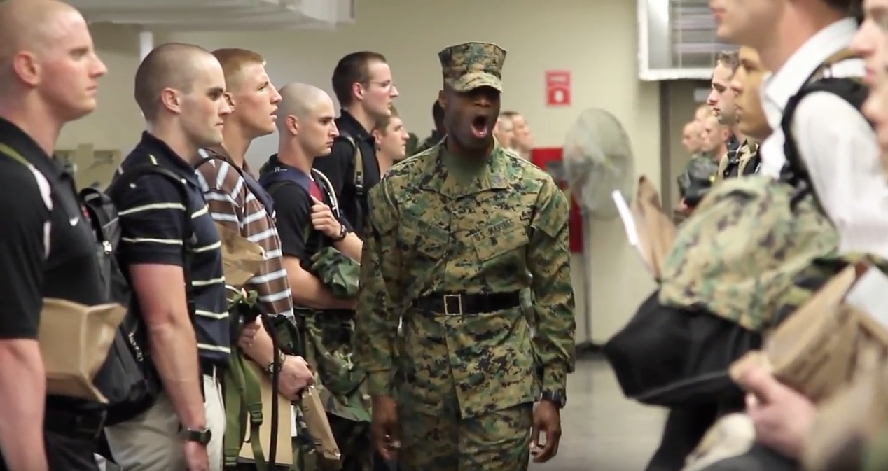 An Inside Look At Marine Officer Candidate School Featured