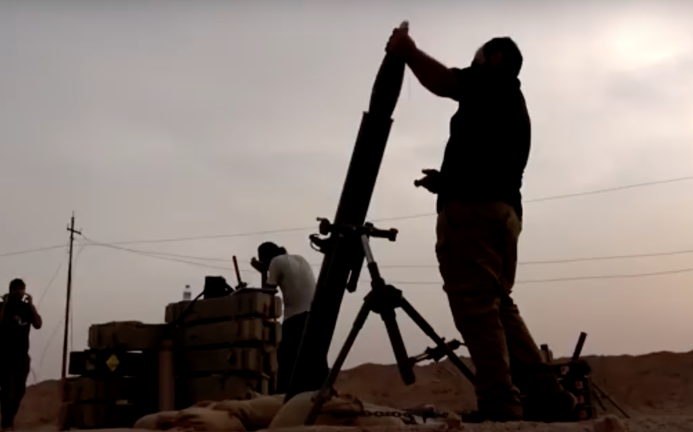 Watch An Iraqi Mortar Team Engage ISIS Fighters Featured