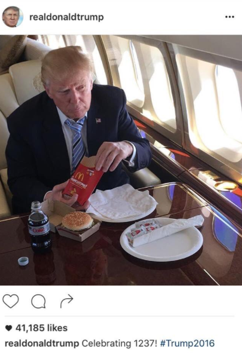 McDonalds Attacks President Trump On Twitter breaking news Controversy Featured