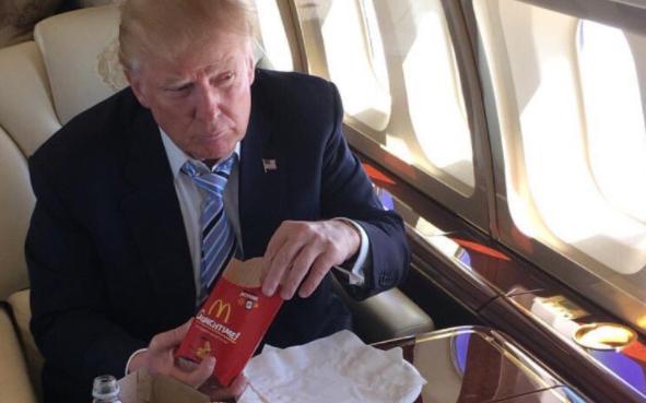 McDonalds Attacks President Trump On Twitter Featured