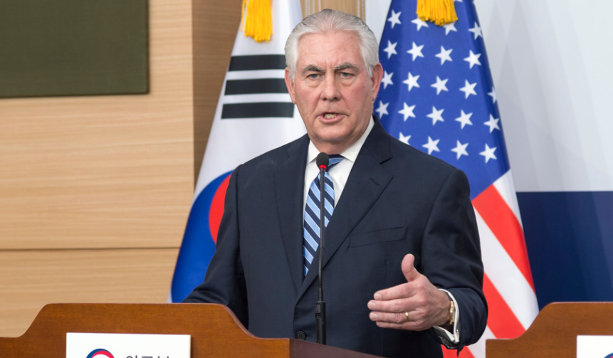 """Tillerson: U.S. Willing To Go To War With North Korea; Threats Will Be Met With """"Appropriate Response"""" Featured"""