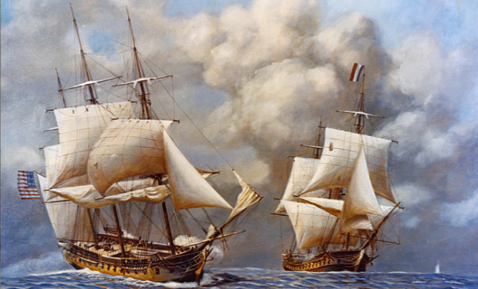 This Day In History: The Naval Act Of 1794 Was Passed By Congress Featured