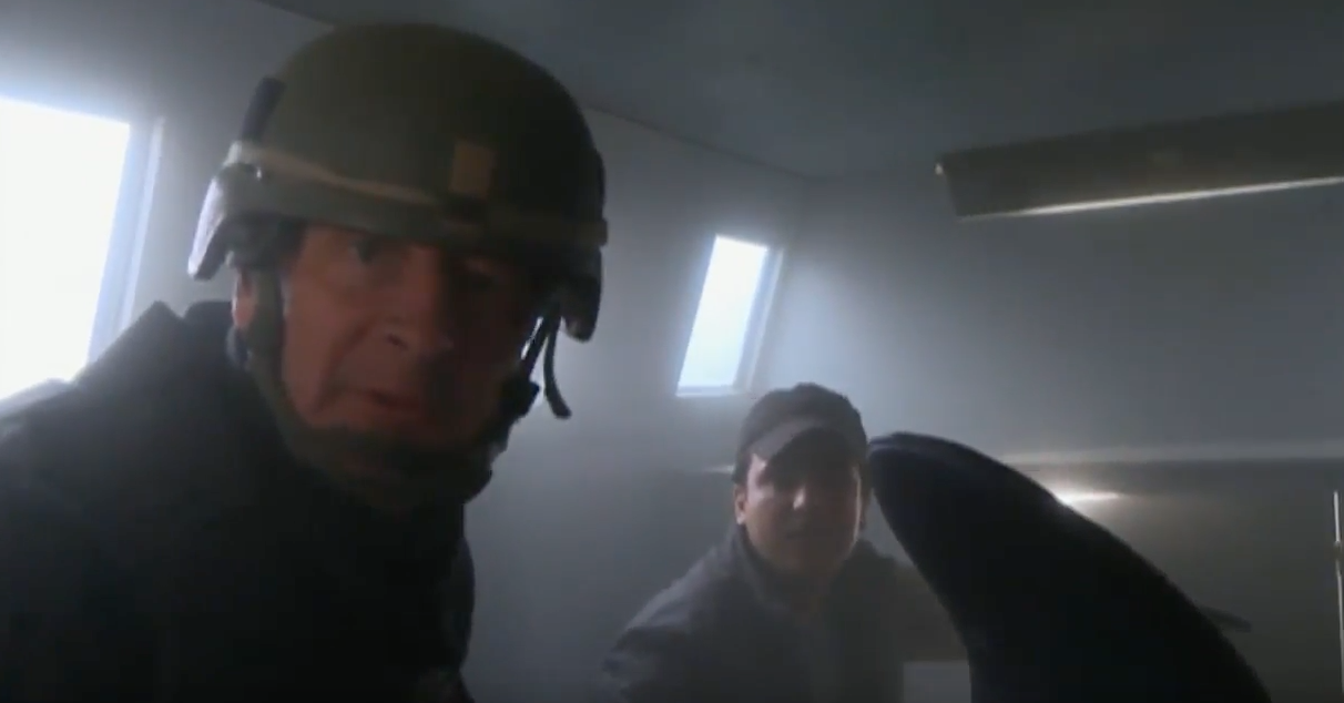 (VIDEO) Sky News Reporters Narrowly Escape ISIS Suicide Bomb Explosion Featured