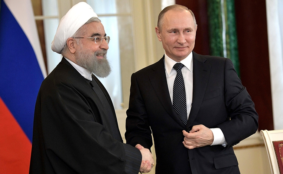 """Putin Touts Iran As A """"Reliable & Stable Partner"""" With New Military Base Sharing Featured"""