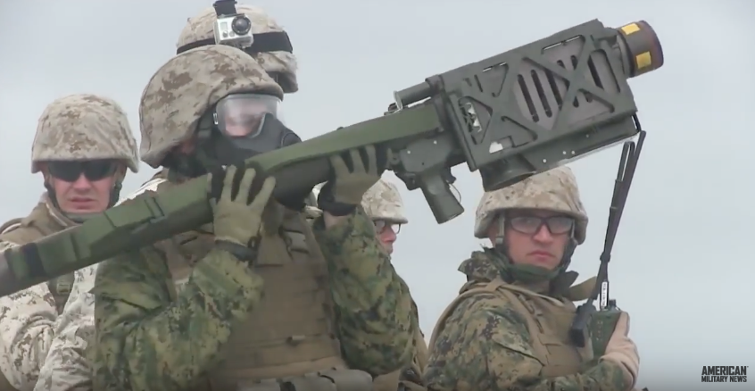 (VIDEO) U.S. Marines Take Down Drones With FIM-92 Stinger Missiles Featured