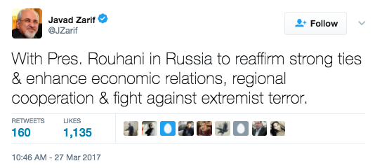 """Screen Shot 2017 03 28 at 1.55.03 PM - Putin Touts Iran As A """"Reliable & Stable Partner"""" With New Military Base Sharing"""