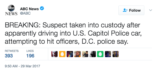Screen Shot 2017 03 29 at 10.08.22 AM - UPDATES: Shots Fired At U.S. Capitol - What You Need To Know