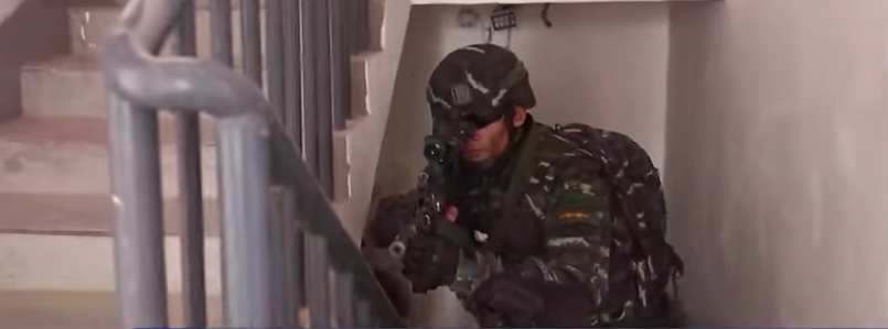 (VIDEO) China Airs Chinese Forces Reenacting Raid On Bin Laden's Compound Featured