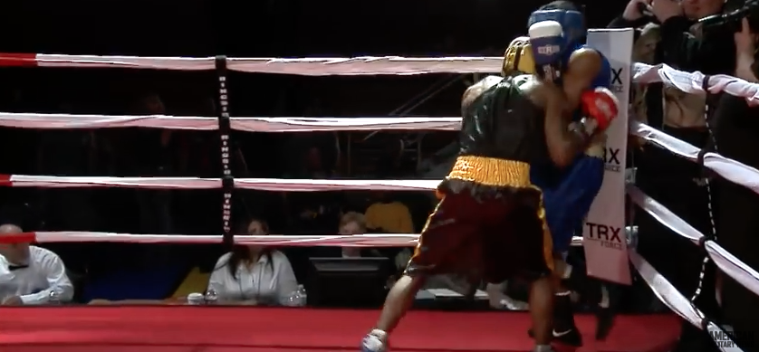 Screen Shot 2017 03 30 at 9.23.13 AM - (VIDEO) Epic Marine Vs. Army Boxing Match Gets Heated