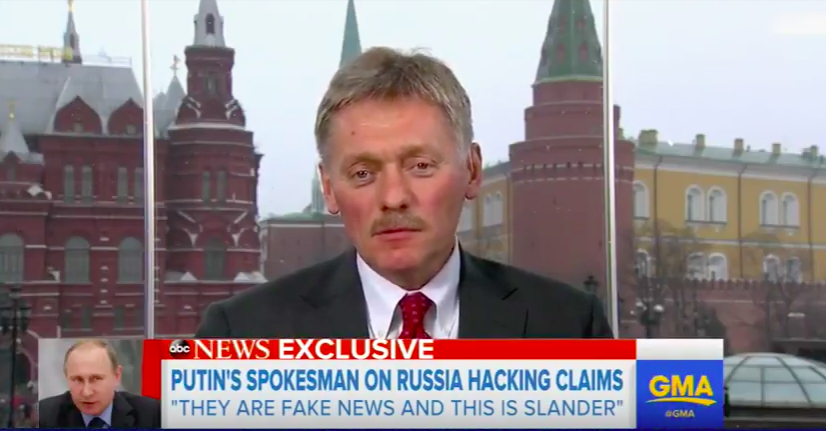 Top Putin Spokesman: 'Fake News' That Flynn Meaningfully Discussed Sanctions With Russian Ambassador Featured
