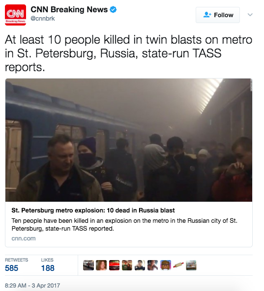 Screen Shot 2017 04 03 at 9.10.36 AM - At Least 10 Dead After Multiple Explosions At Russian Subway Station