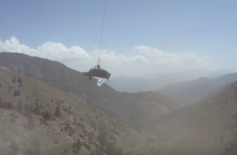 Screen Shot 2017 04 05 at 12.16.45 PM - (VIDEO) Watch A Chinook Recover An Apache That Crashed Into A Mountain