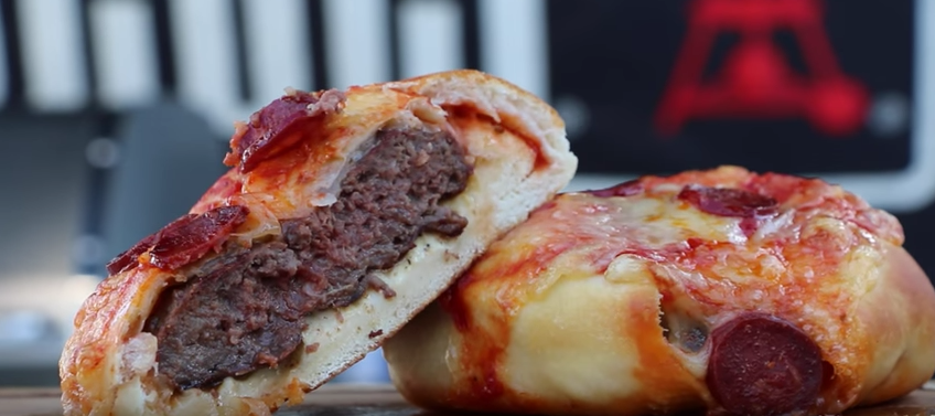 Most Mouth-Watering Combination Of American Food Ever: The Pizza Burger Featured
