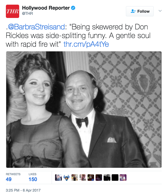 Screen Shot 2017 04 06 at 5.44.16 PM - Don Rickles, WWII Vet & Comedian, Dies At 90