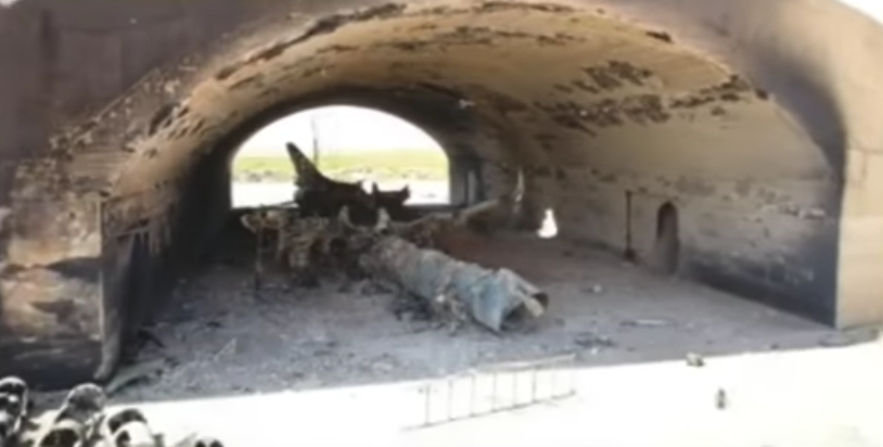 (VIDEO) Intense Footage Shows Damage Caused By The U.S. Missile Strikes In Syria Featured
