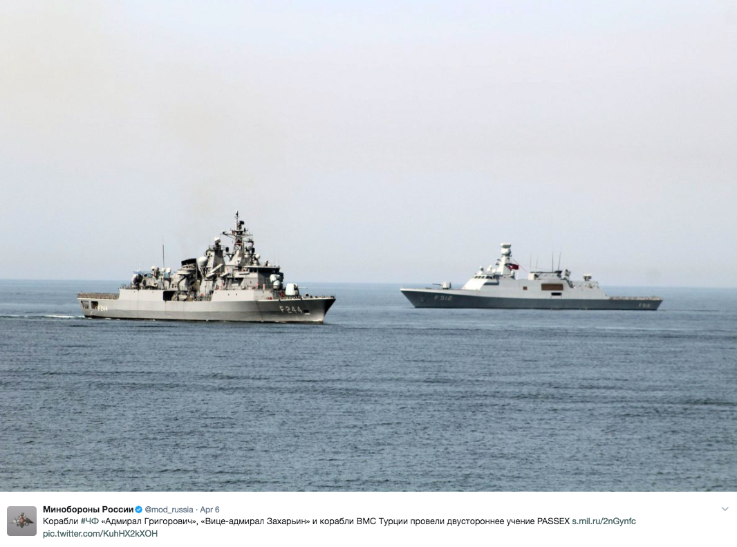 Russian Warship Heading For U.S. Navy Destroyers That Launched Syrian Attack breaking news