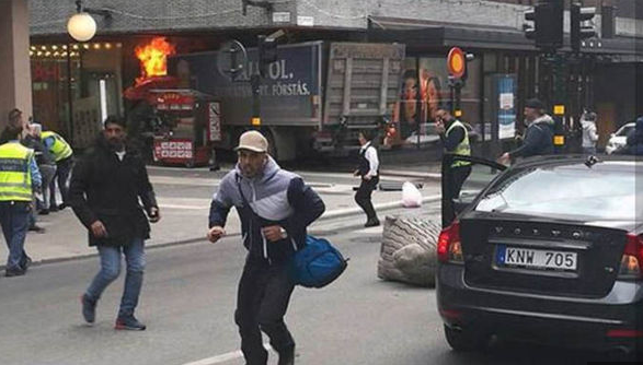 Truck Attack Plows Through Crowd In Sweden – Deaths Reported (VIDEO) Featured