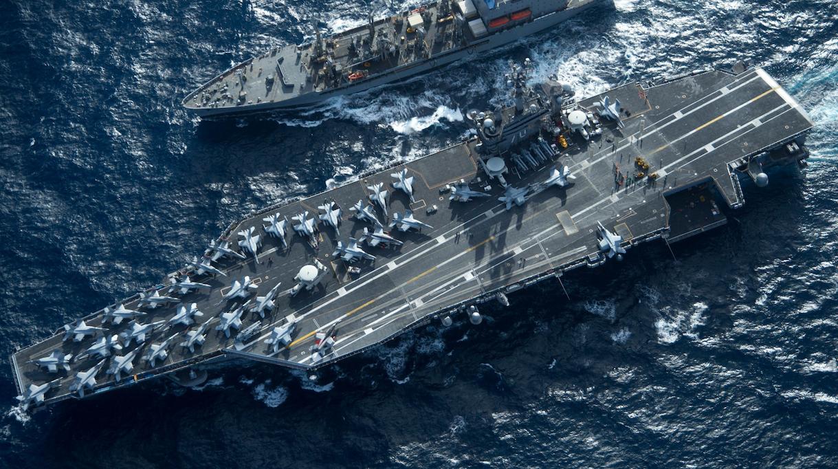 U.S. Aircraft Carrier-Led Strike Group Reverses Course, Heads Back Towards North Korea & Korean Peninsula Featured