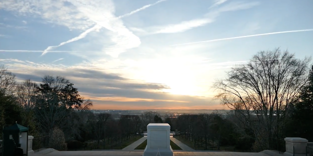 (VIDEO) Watch A Beautiful Sunrise Timelapse At The Tomb Of The Unknown Soldier Featured