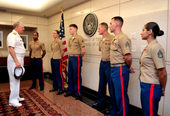 (VIDEO) Watch Marines Attend Marine Security Guard School Featured