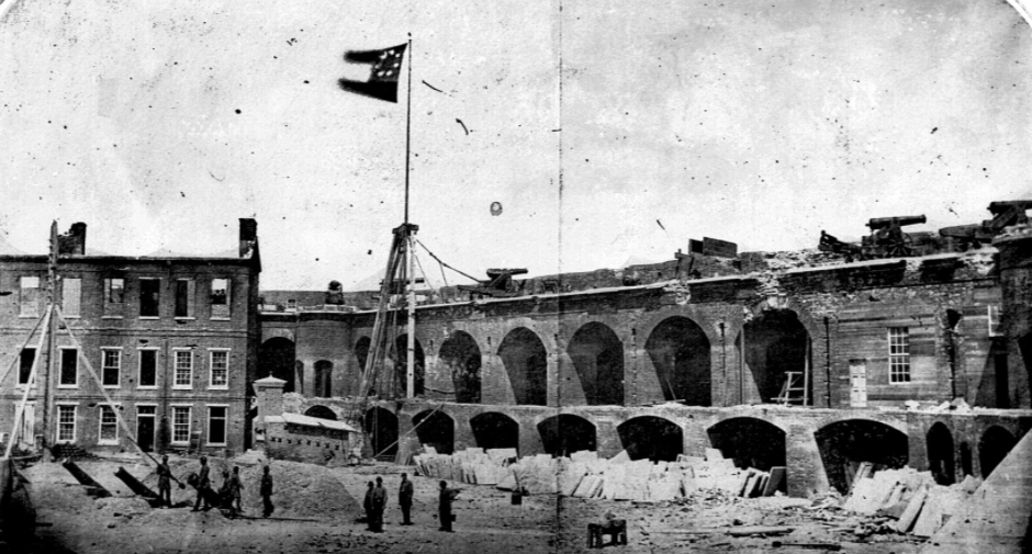 This Day In History: Union Forces Surrendered Fort Sumter Featured