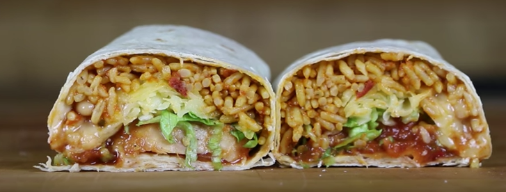 The Perfect Quick & Easy Lunch: The Grilled Chicken Burrito Featured