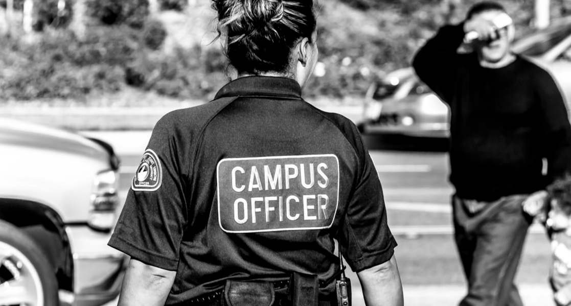 Campus police officer