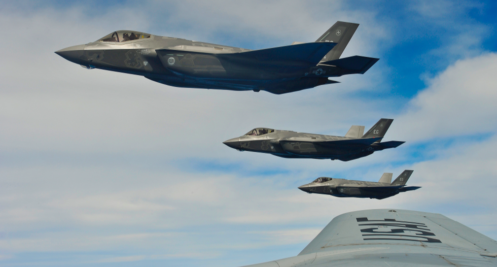 U.S. Air Force F-35s Are Heading To Europe To Send A Message To Russia Featured