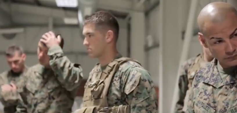 (VIDEO) Watch Marines Take Their Black Belt Martial Arts Test Branches Department of Defense News Deployments Family Guns Marines Training Veterans Video