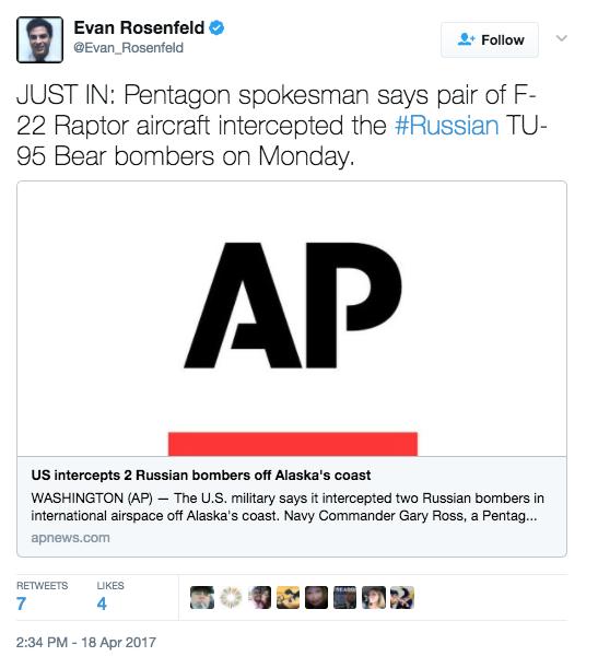 Screen Shot 2017 04 18 at 4.17.05 PM - U.S. F-22s Intercept Russian Bombers Near Alaskan Border