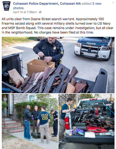 Screen Shot 2017 04 19 at 11.42.44 AM - Massachusetts Police Seize Guns & Shells From 65-Year-Old For Improper Storage