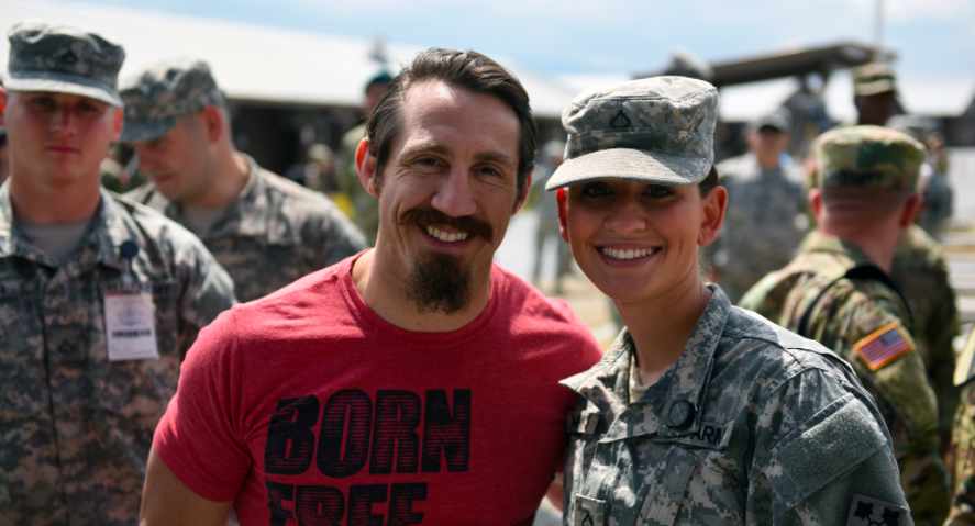 Screen Shot 2017 04 19 at 3.12.41 PM - UFC Fighter Tim Kennedy Re-Enlists With Green Berets To Fight ISIS