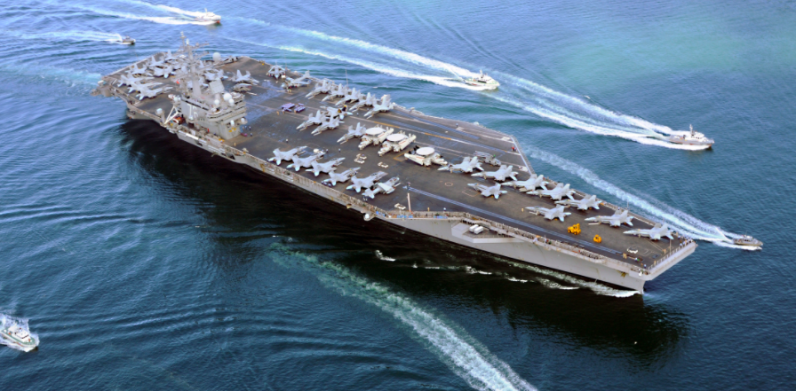 "Navy Official: Two More Aircraft Carriers ""Absolutely Not"" Headed To Korean Peninsula, In Response To Fake News Reports Featured"