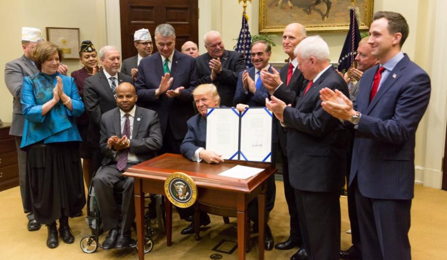 President Trump Signs Bill To Extend Veterans Choice Program Featured