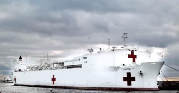 (VIDEO) Learn About The USNS Comfort Hospital Ship Featured