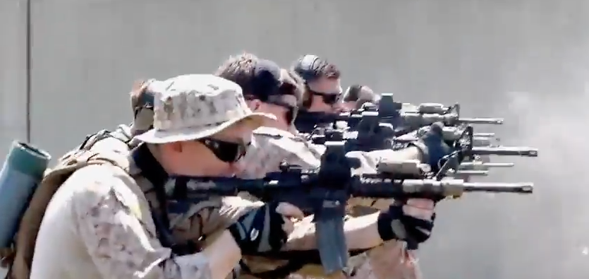 Screen Shot 2017 04 24 at 7.32.26 PM - (VIDEO) Watch Force Recon Marines Train On The 31st MEU