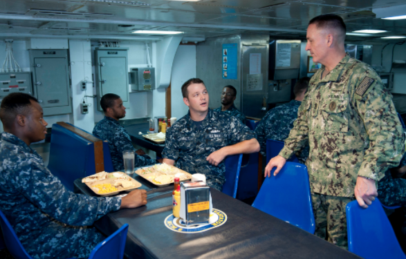 Screen Shot 2017 04 24 at 7.56.52 PM - (VIDEO) Learn What It's Like To Eat On Board A U.S. Navy Ship