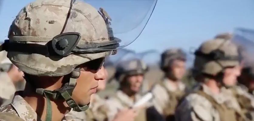 Watch U.S. Marines Conduct Riot Control Training Featured