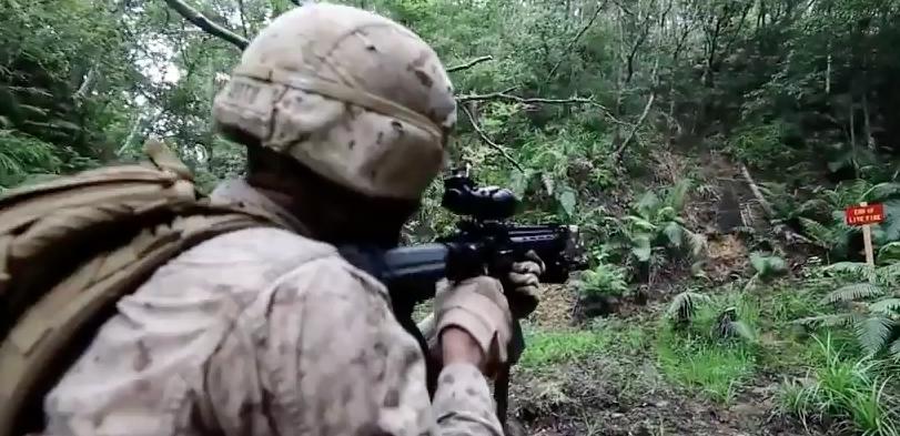 Screen Shot 2017 04 25 at 11.11.11 PM - Watch U.S. Marines Conduct A Jungle Patrol