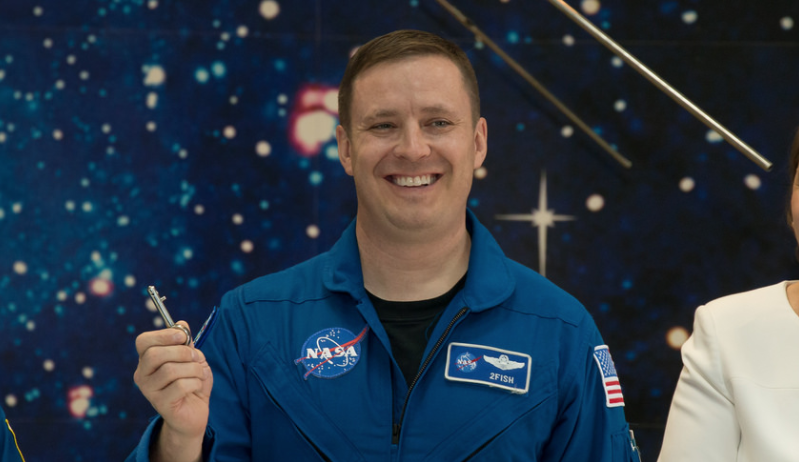 Air Force Col. & NASA Astronaut Jack Fischer Arrives At International Space Station Featured