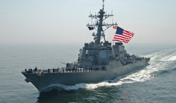 Iranian Ship Comes Within 1,000 Yards Of U.S. Navy Destroyer With Weapons Manned; U.S. Mans Weapons, Fires Flares Featured