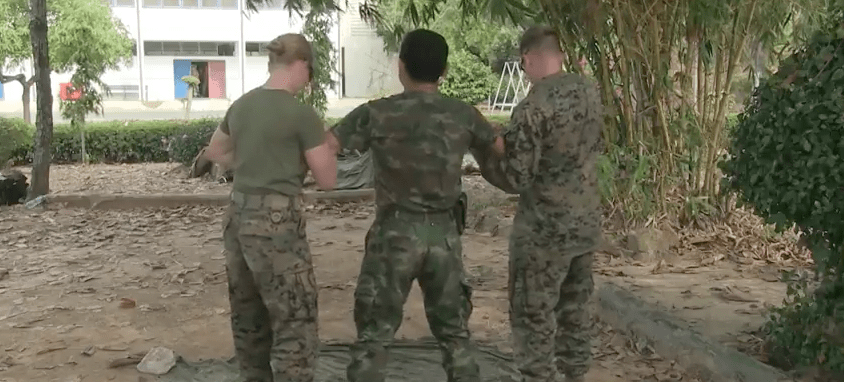 Screen Shot 2017 04 27 at 8.13.09 PM - Watch U.S. & Thai Marines Get Tasered In Training