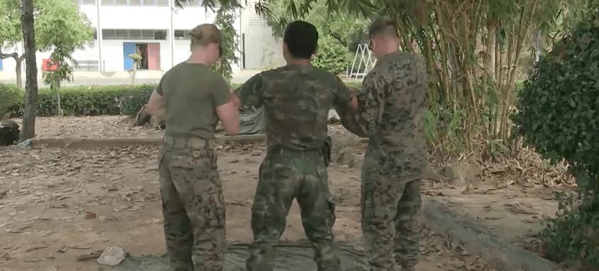 Watch U.S. & Thai Marines Get Tasered In Training Featured
