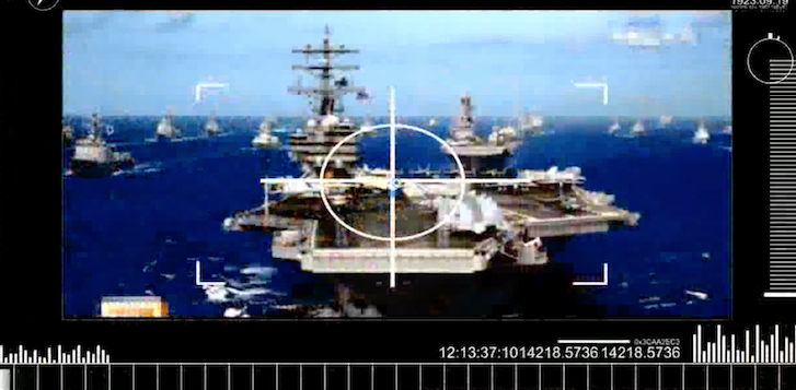 Screen Shot 2017 04 27 at 9.50.17 AM - (VIDEO) North Korea Releases New Video With U.S. Aircraft Carriers Exploding & White House In Crosshairs