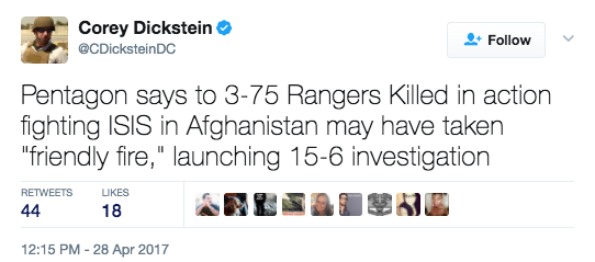 Screen Shot 2017 04 28 at 1.53.56 PM - Pentagon Investigating Whether 2 Army Ranger Deaths Were Result Of Friendly Fire