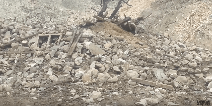 Screen Shot 2017 04 28 at 10.08.15 AM - U.S. Releases Video Of MOAB Bomb Site In Afghanistan - Here It Is