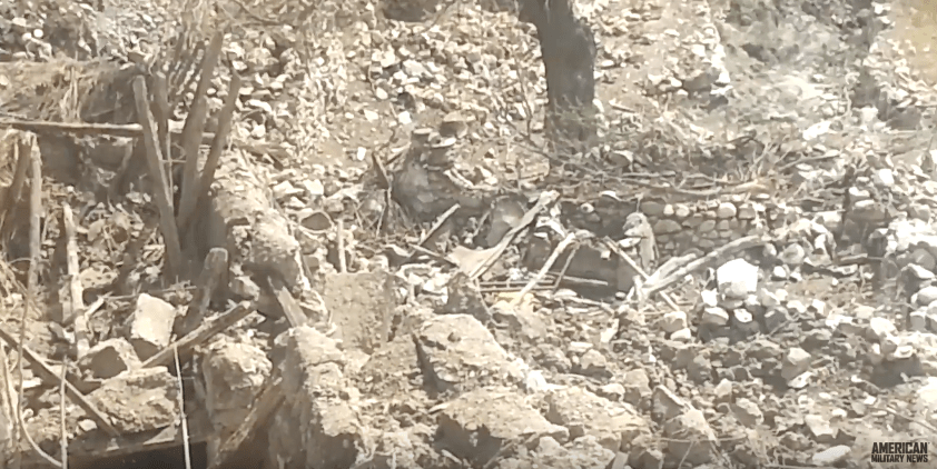 Screen Shot 2017 04 28 at 10.11.00 AM - U.S. Releases Video Of MOAB Bomb Site In Afghanistan - Here It Is